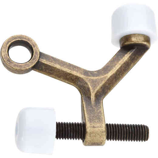 National 1415 Antique Brass Hinge Pin Door Stop
