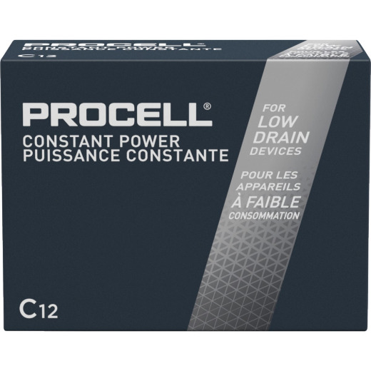 Duracell ProCell C Alkaline Battery (12-Pack)